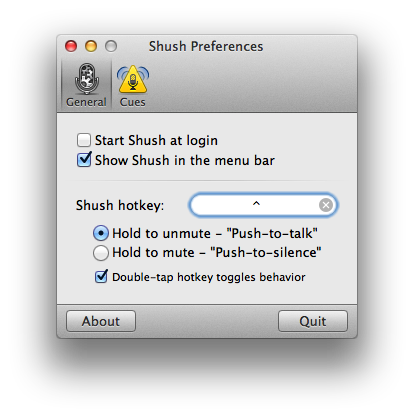 Mac Gems: Shush gives you a systemwide mic mute | Macworld