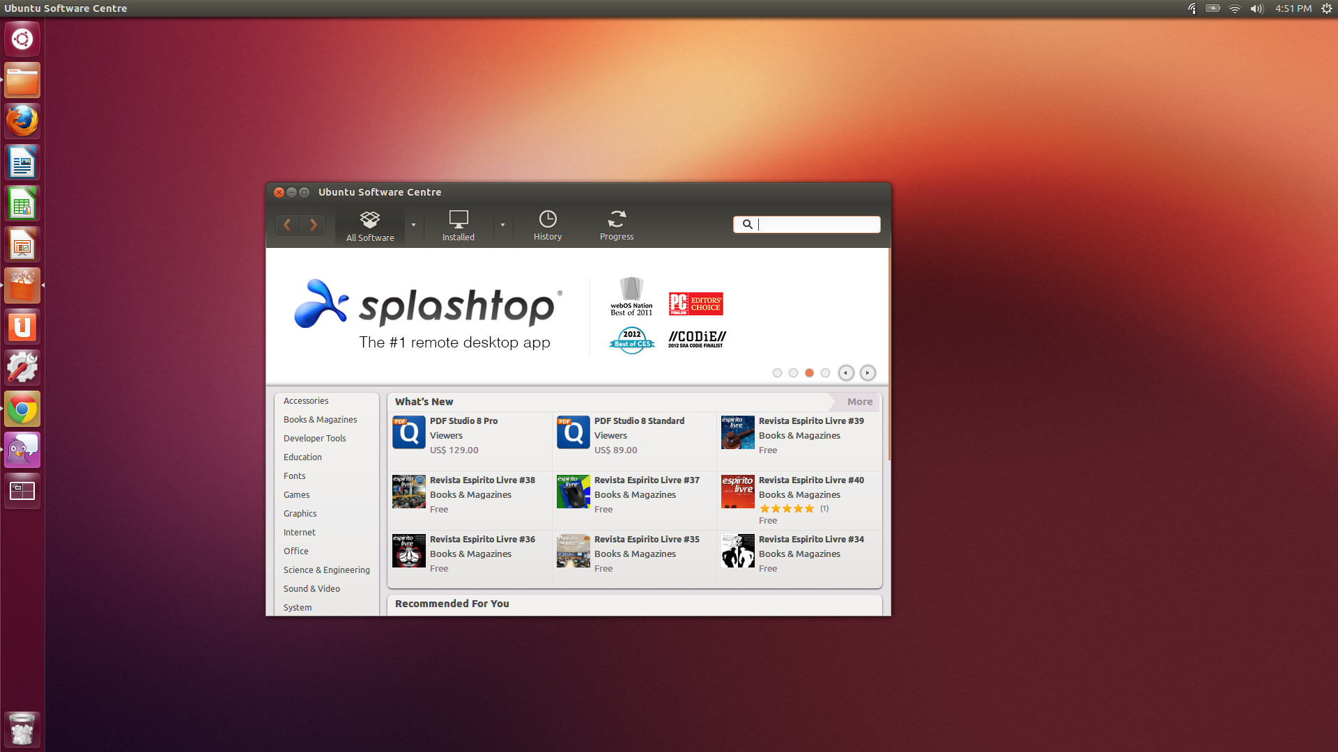 The ubuntu guide for displaced windows users pcworld the ubuntu software center hosts a multitude of apps most of them free reheart Images