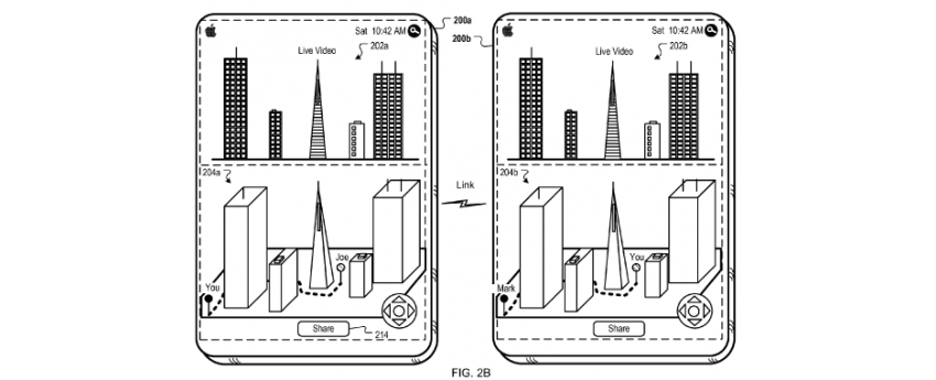 Apple, patent, virtual reality