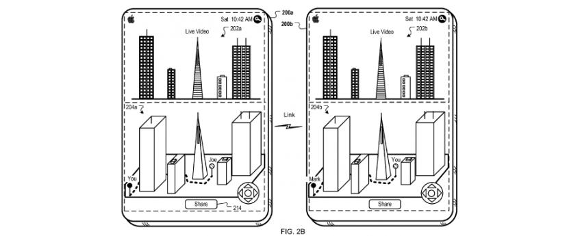 Apple, patent, virtual reality