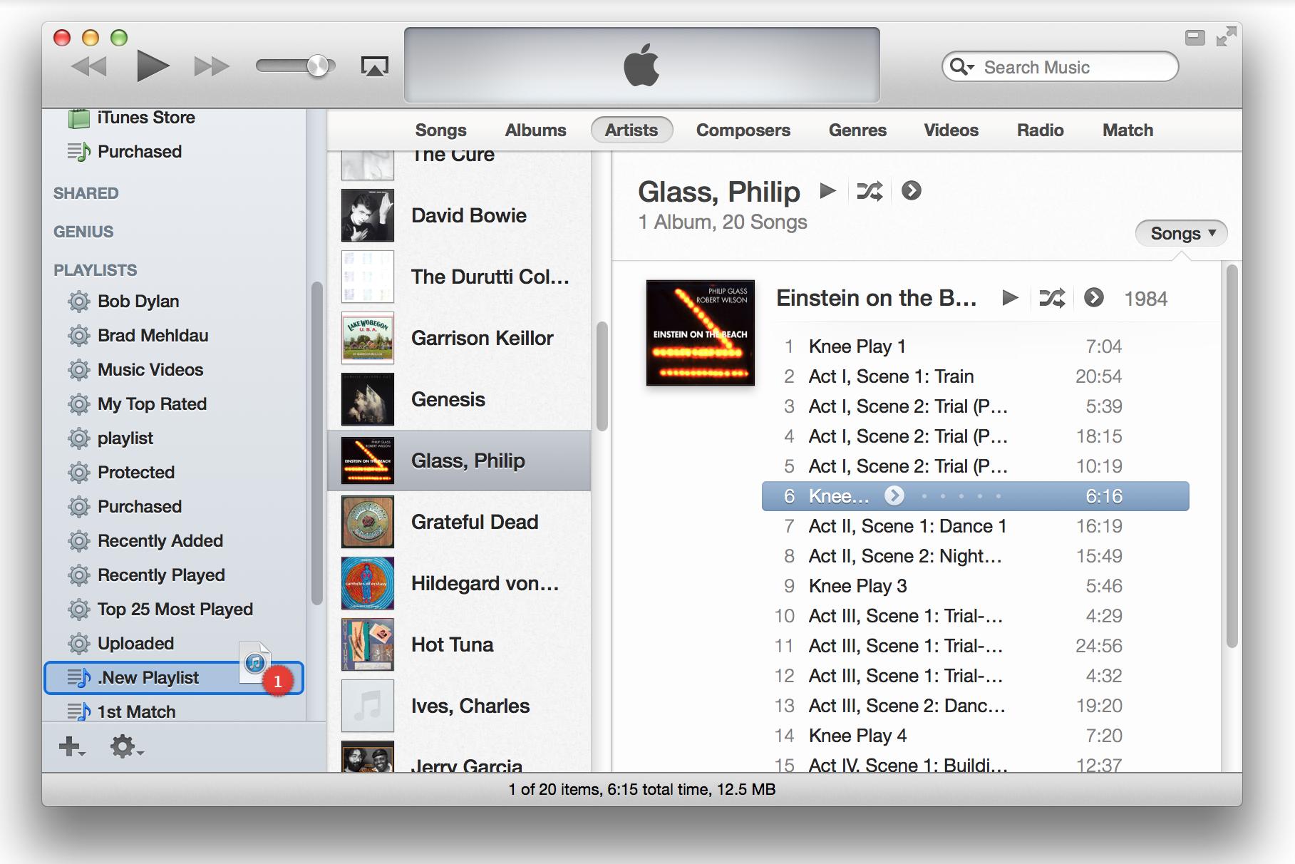 iTunes Playlist