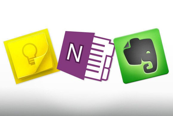 Google Keep vs  OneNote vs  Evernote: We name the note-app