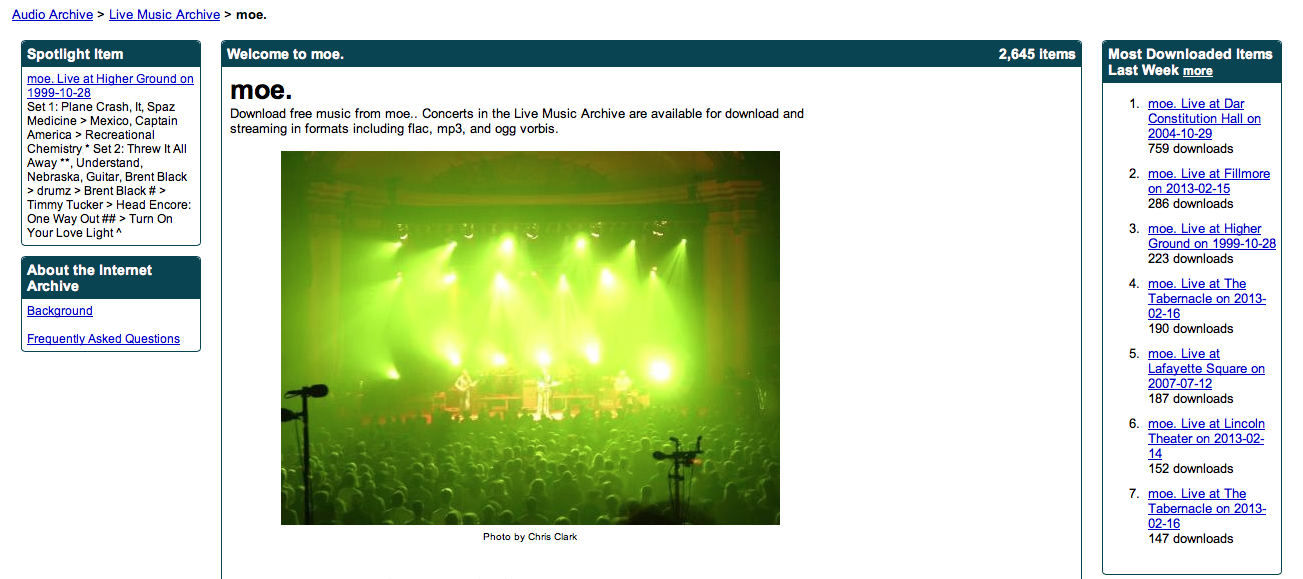 Collecting live music in the digital age | TechHive