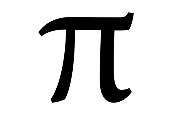 Who invented the mathematical term pi