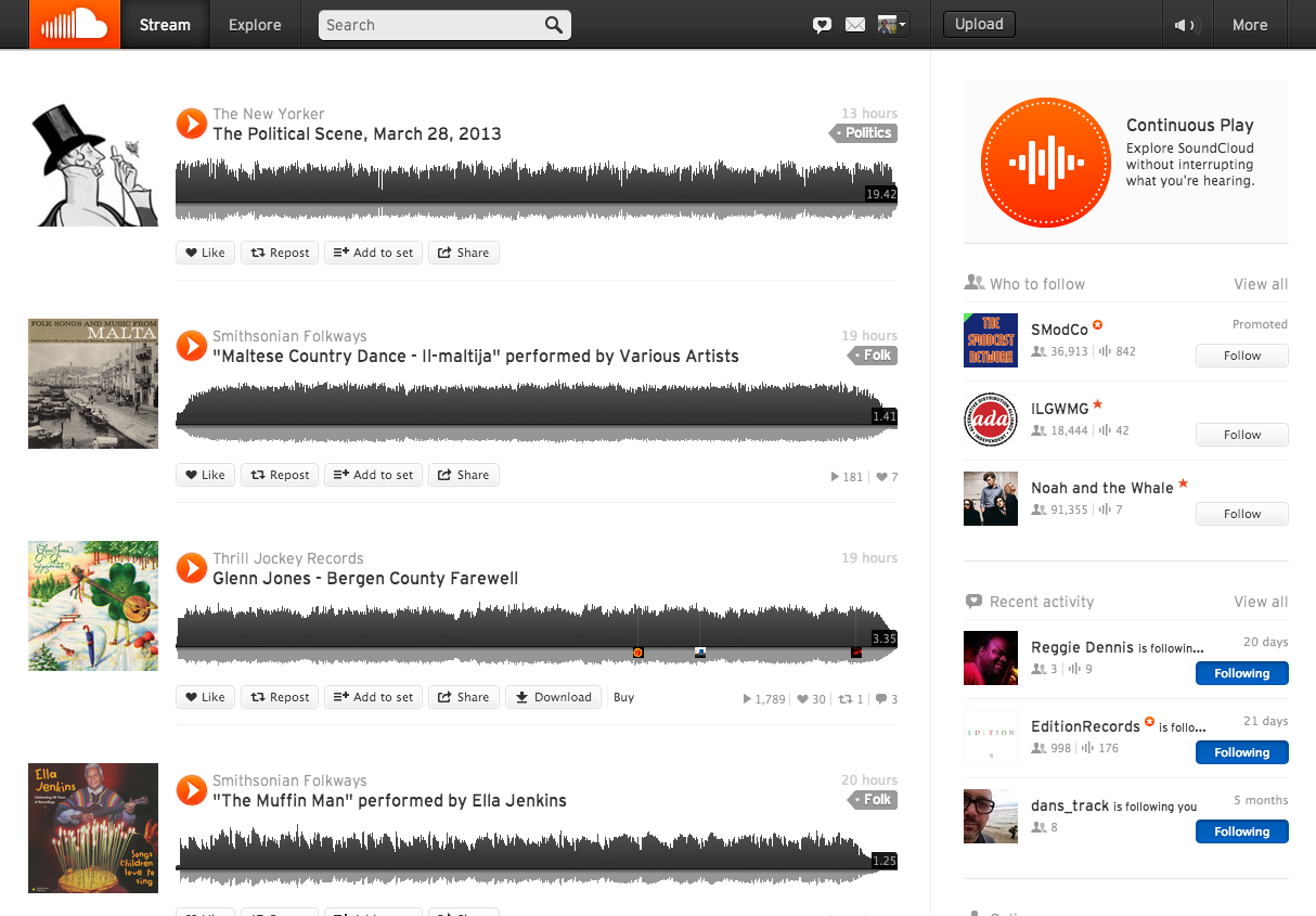 soundcloud how to search like