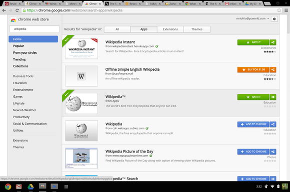 Shopping the Chrome Web Store: name brands, knock-offs and no-shows