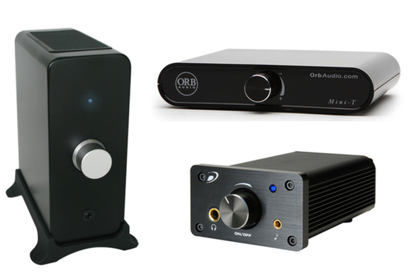 Review Three Amps For Building Your Own Desktop Audio System