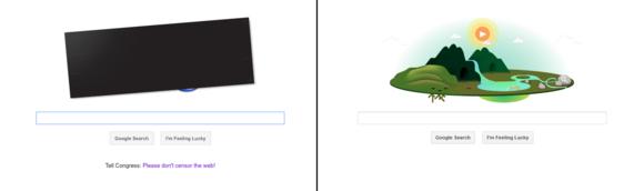 Google SOPA/CISPA