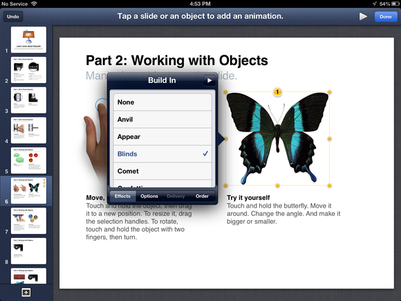 Editing powerpoint documents on an ipad macworld use keynote apples 10 keynote for ios toneelgroepblik Image collections