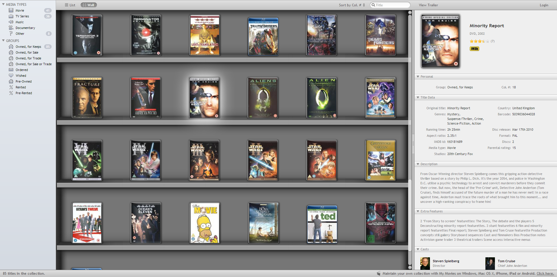 Review: Catalog your DVD & Blu-ray movie collection with ... - photo#14