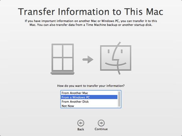 transfer from mac to mac