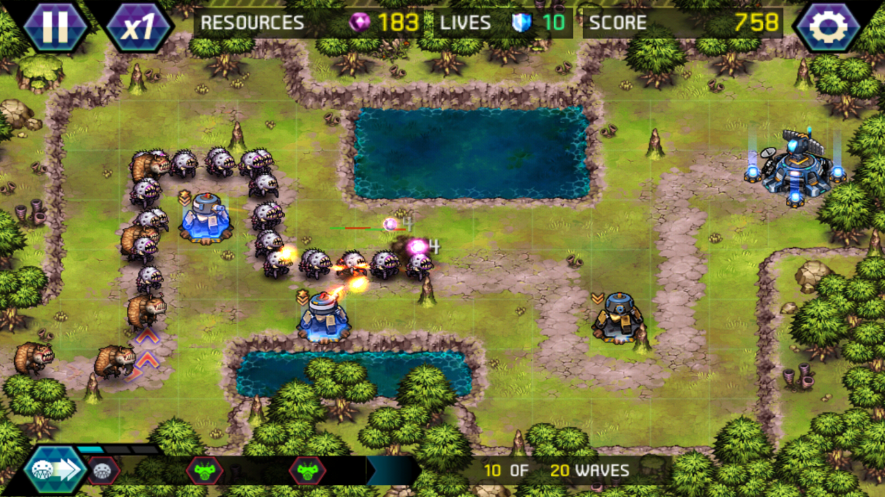 tower defence spiele