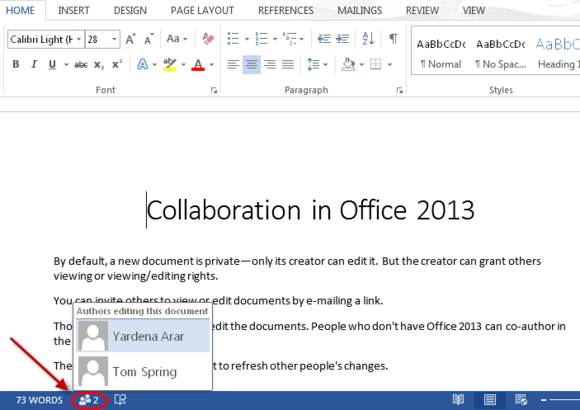 Collaboration in microsoft office painful but not for Document collaboration app