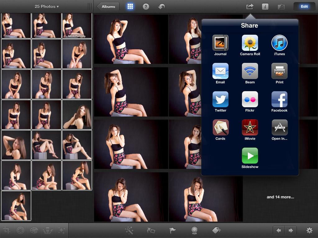 how to delete movies imovie ipad