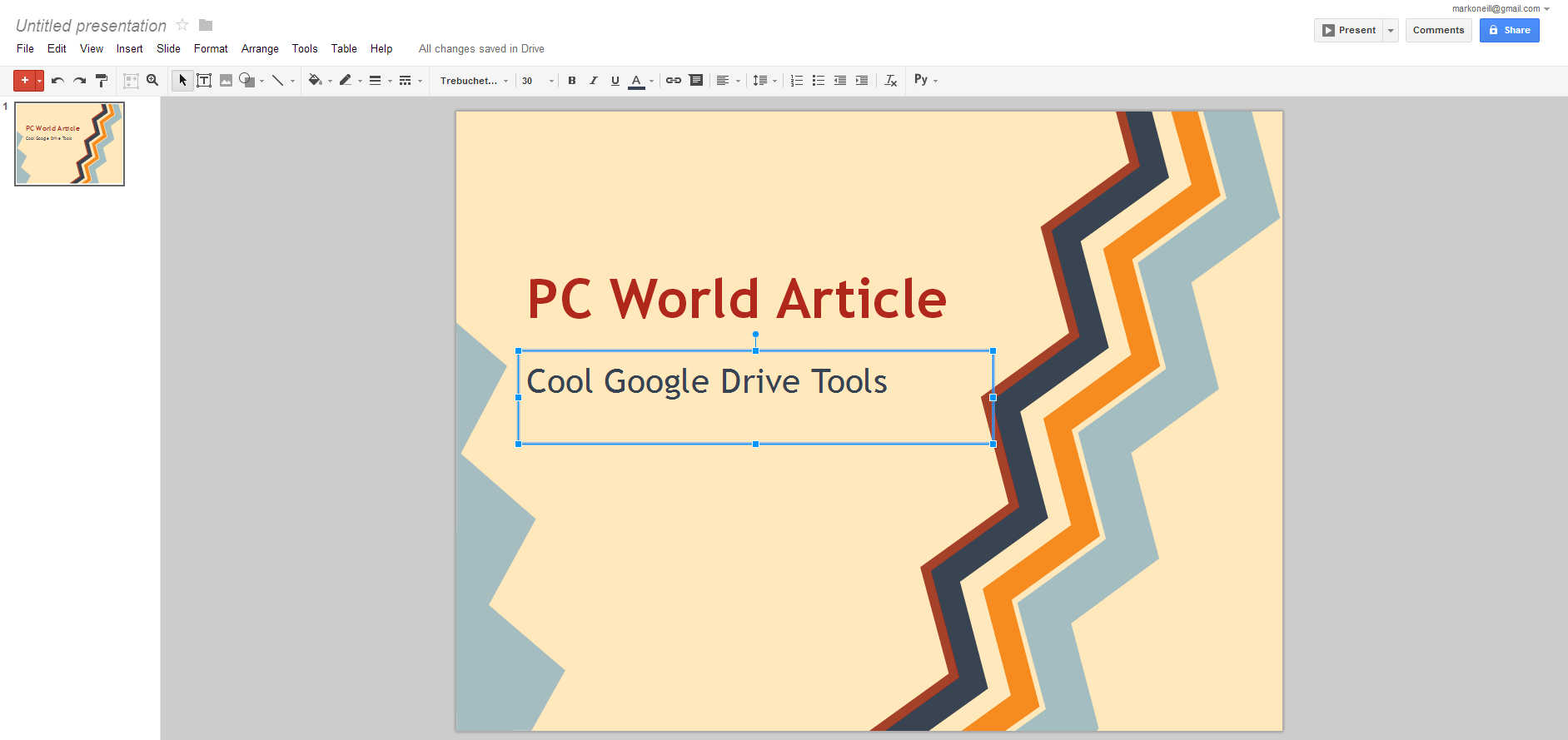 review collaborate on presentations with google slides pcworld