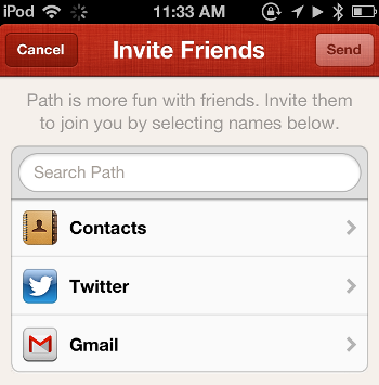 path find friends