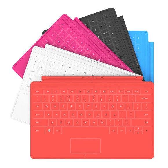 Surface RT keyboard