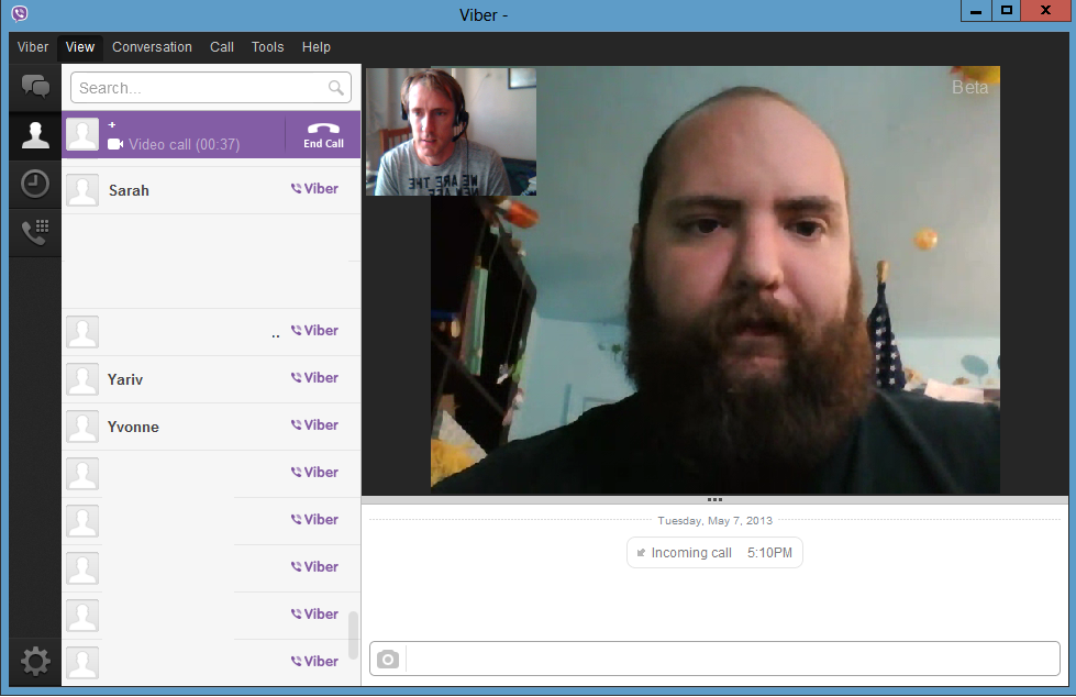 Hands on with Viber's new desktop app: It's no Skype | PCWorld