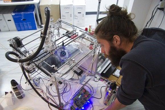 3D printer support