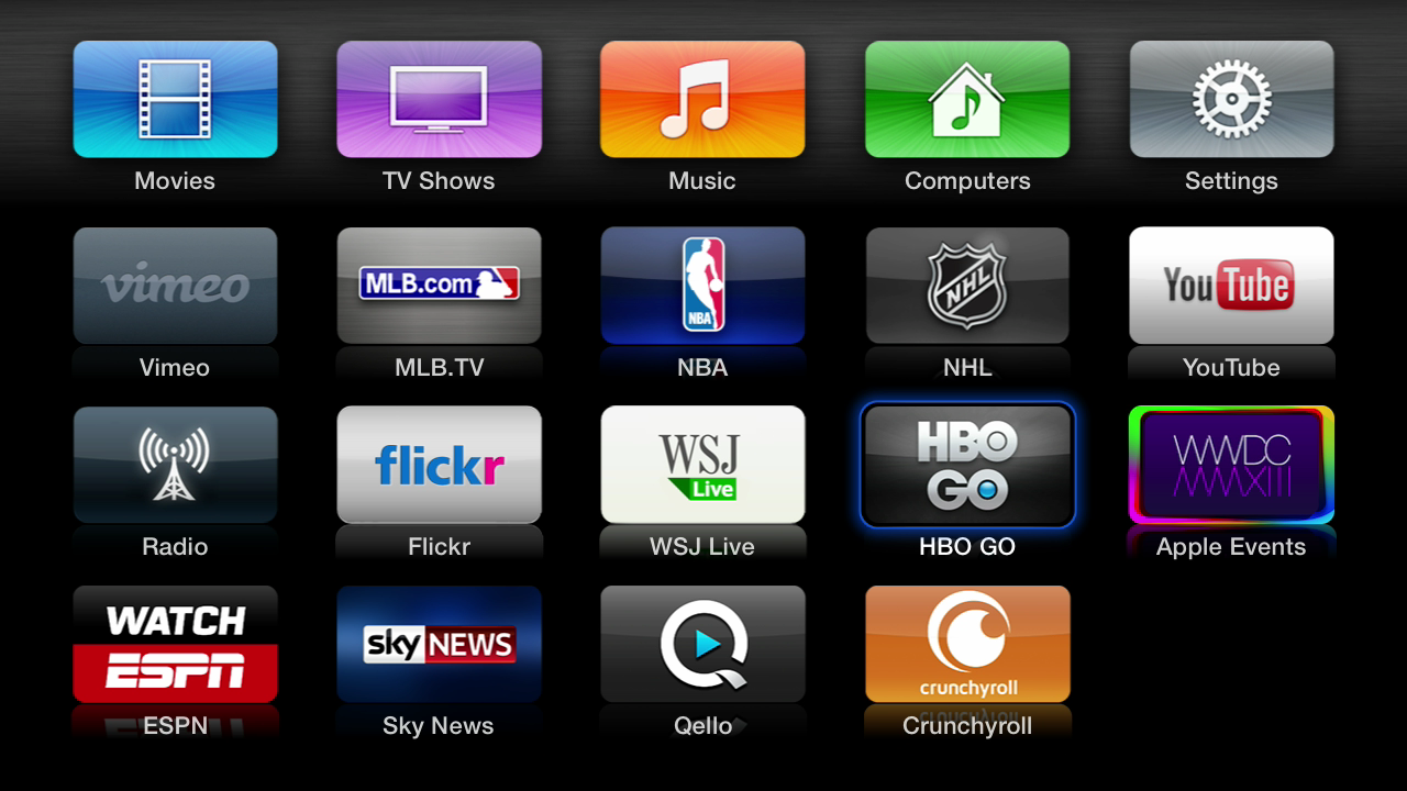 apps apple tv