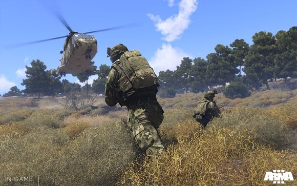 Hands on with ARMA III and DayZ, PC gaming's E3 vanguards