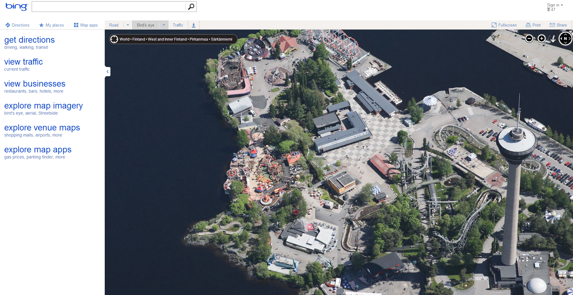 Bing increases bird's-eye data significantly in update to Bing Maps on