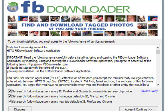 Review Download Facebook Photos And Albums With Fbdownloader Pcworld