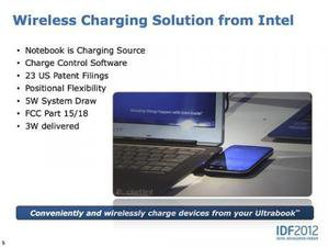 Intel's wireless charging solution