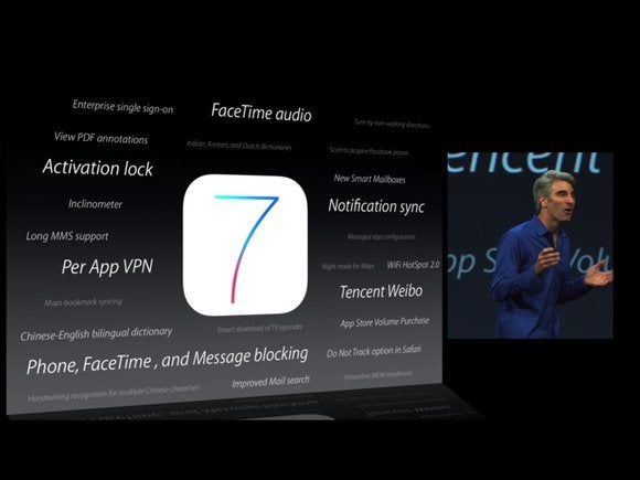 Apple details new iOS 7 features for business, education | Macworld
