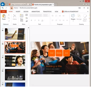 Office Web Apps: PowerPoint