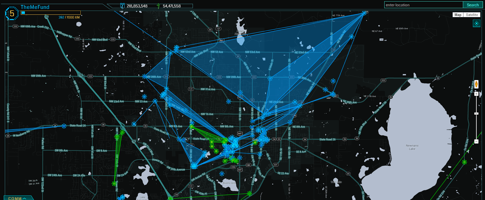 Deep inside Ingress, the Google-made game that's paving the way for on ingress strategy guide, ingress global map, ingress virus in, ingress world map sept 26 2015, ingress intel map,