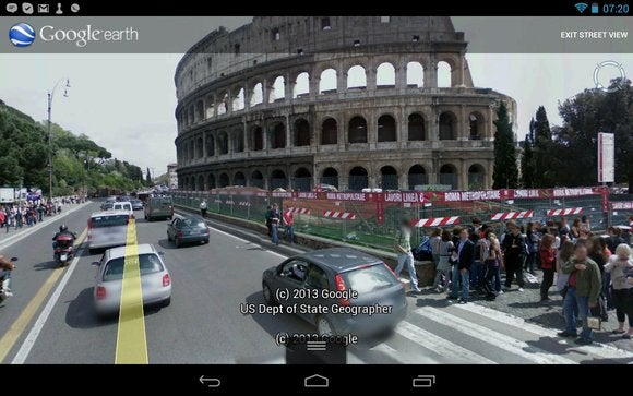 google earth with street view
