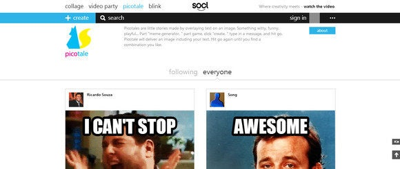 microsoft s socl network steps up its game with animated gifs meme