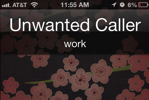 Block unwanted iPhone callers in iOS 6