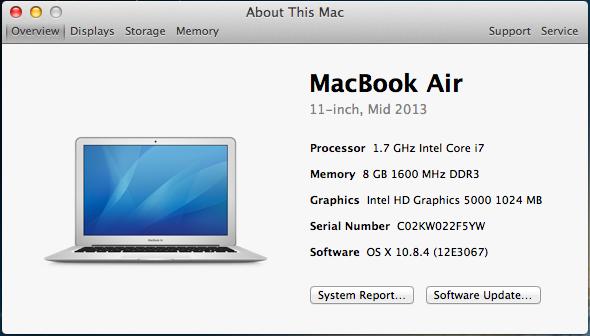 MacBook Air 13.2GHz/ 8GB / 512GB, sSD/HD 6000 - model 2017