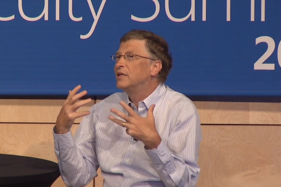 Bill Gates Microsoft Research Faculty Summit 2013