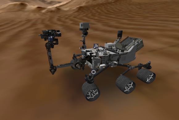 NASA Launches Curiousity Mar's Rover