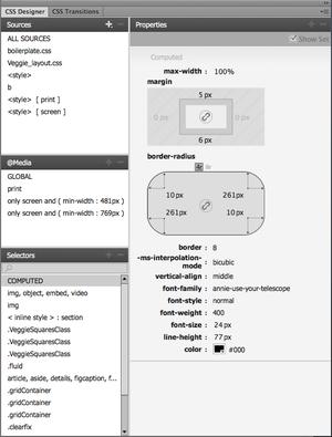 Review: Adobe Dreamweaver CC makes CSS more visual, less