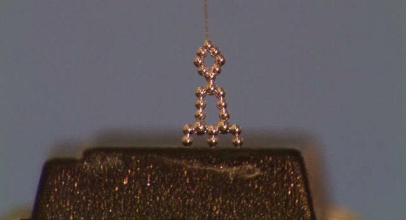 Stretchable, flexible 3D-printed liquid metal wires could be