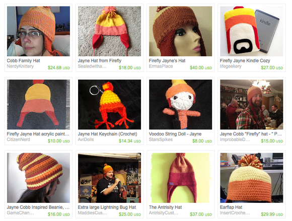 I almost got sued for knitting a Firefly hat\': The legal risks of ...