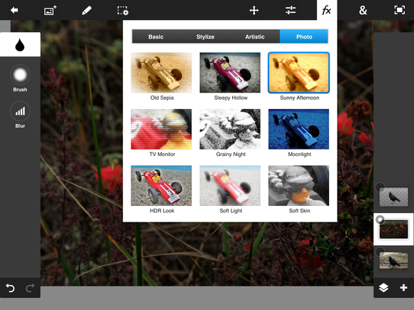 Review photoshop touch brings hardcore image editing to ios and