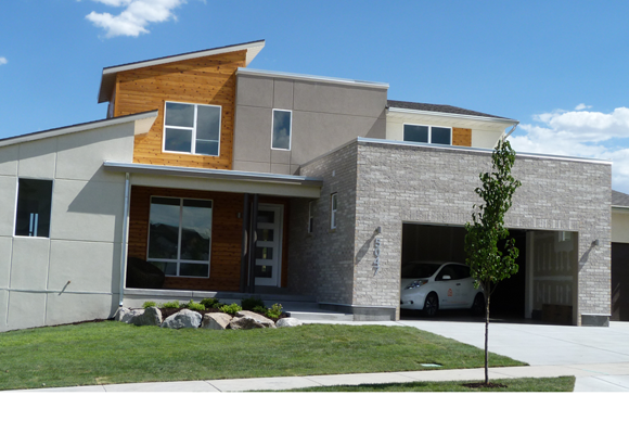 This smart home in utah hits a bold new benchmark net for Zero net energy home