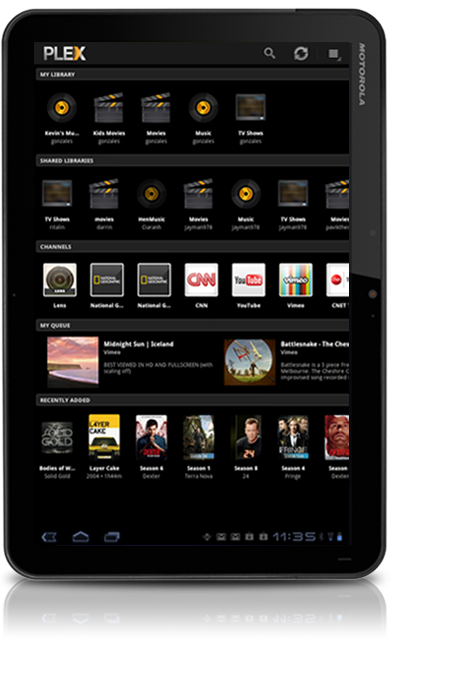 plexplex on android