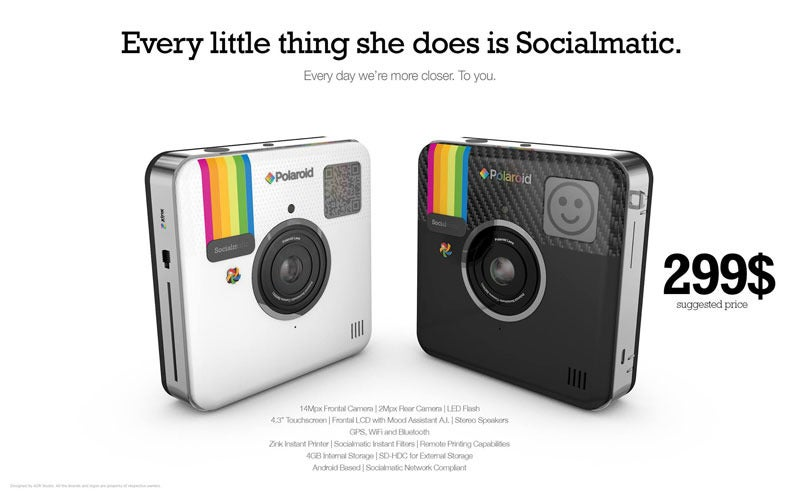 Socialmatic unveils $300 price tag for Instagram-focused camera ...
