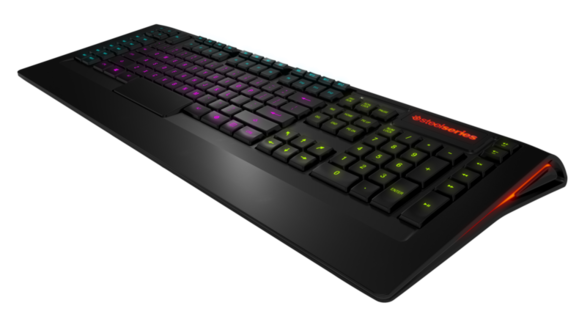 2c3ae1de500 Review: SteelSeries Apex is a supersized keyboard for any gamer ...