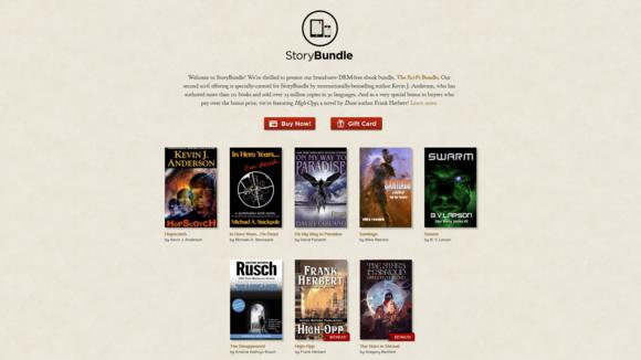 StoryBundle Sci-Fi sale