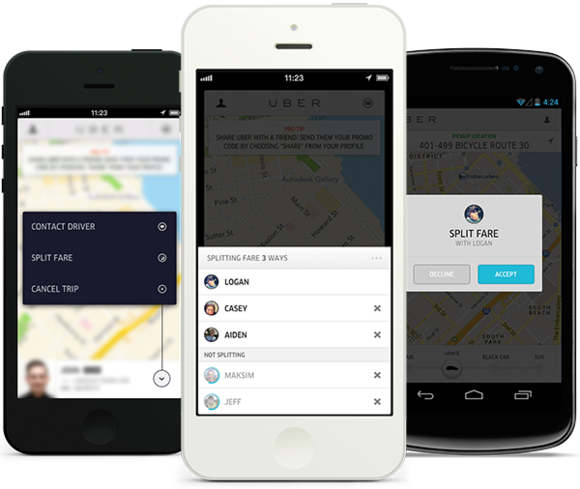 Uber Fare Review >> Pay with friends: Uber lets you split fares | PCWorld