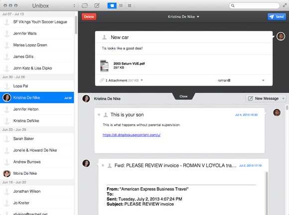 how to show outbox in mac mail