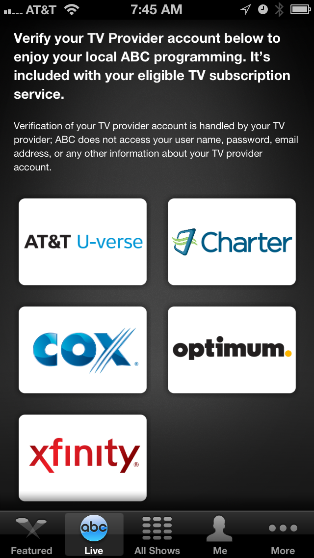 Watch ABC app expands live streaming, keeps cord uncut