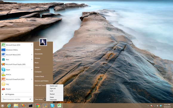 Windows 8 Start Menu Start8